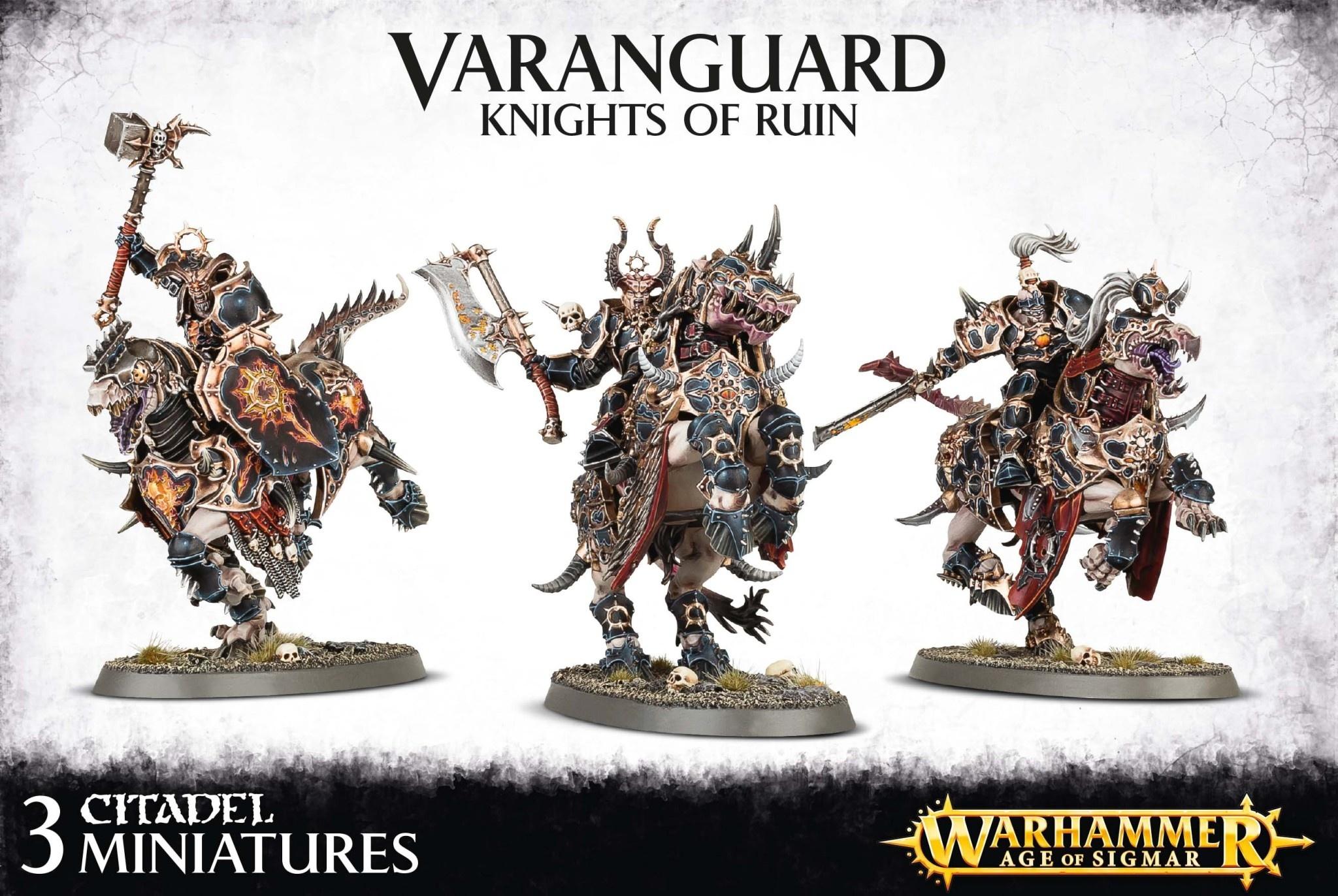 Games-Workshop Everchosen Varanguard Knights Of Ruin
