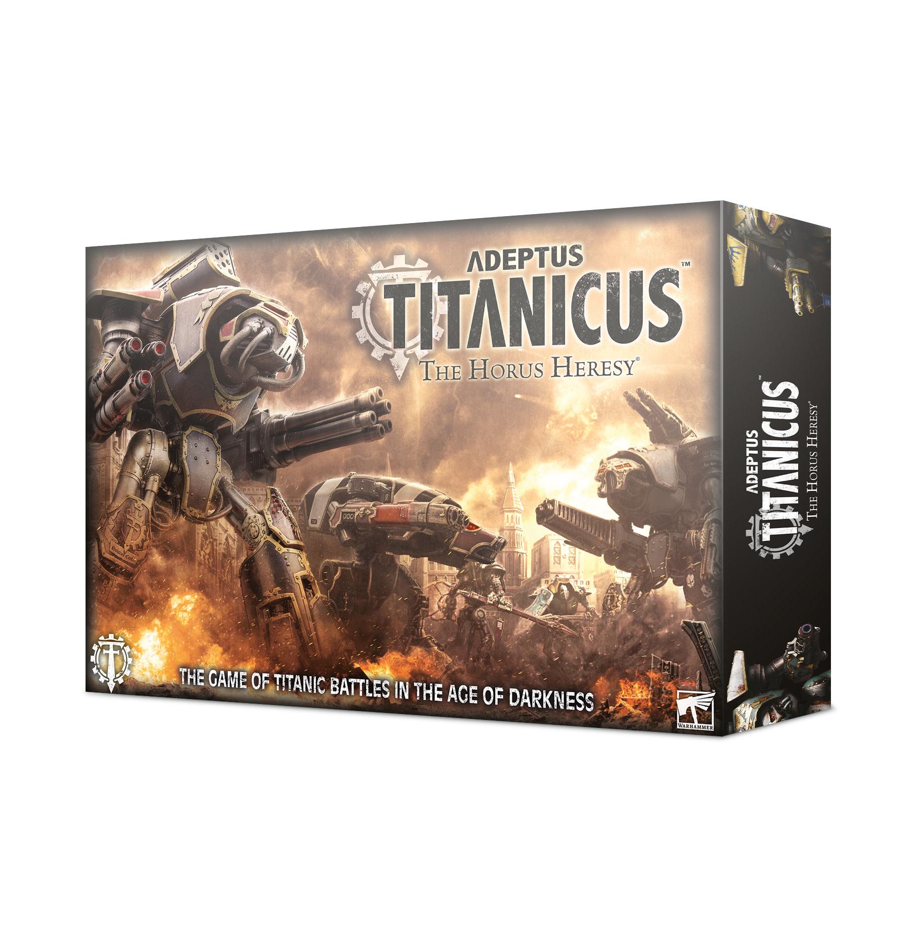 Games-Workshop Adeptus Titanicus Starter Set (English)
