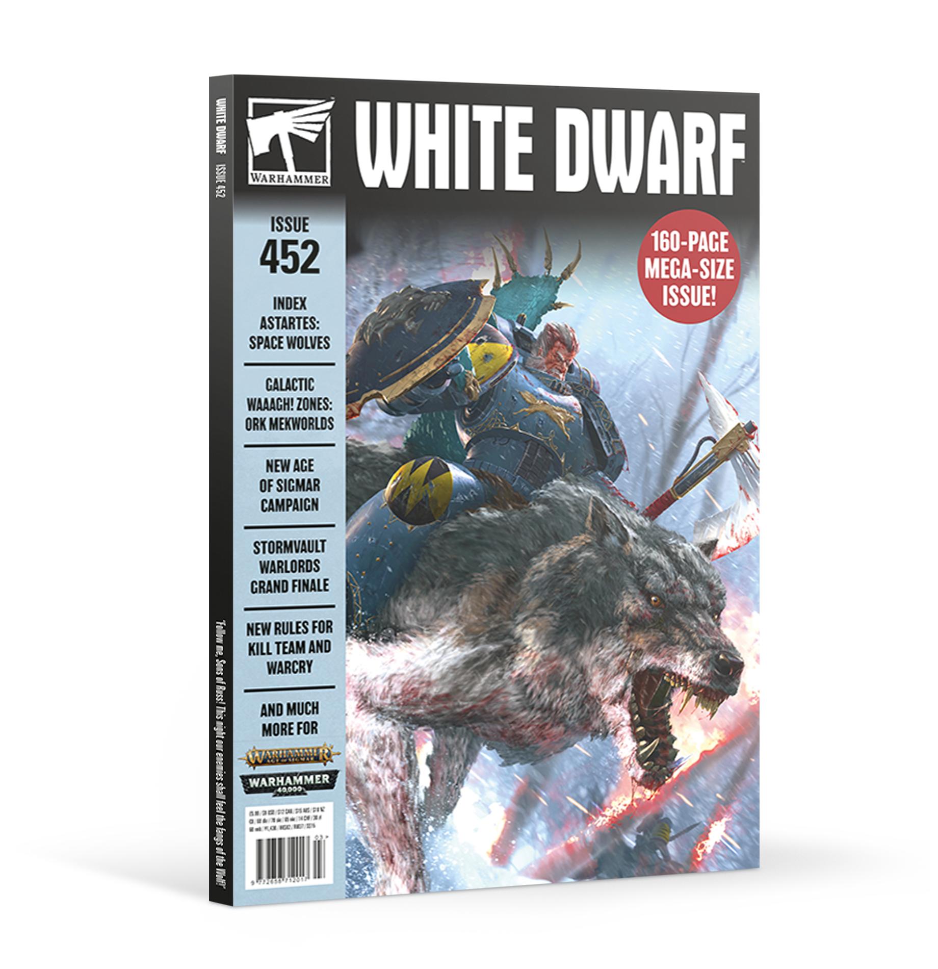 Black Library White Dwarf March 2020 (English)
