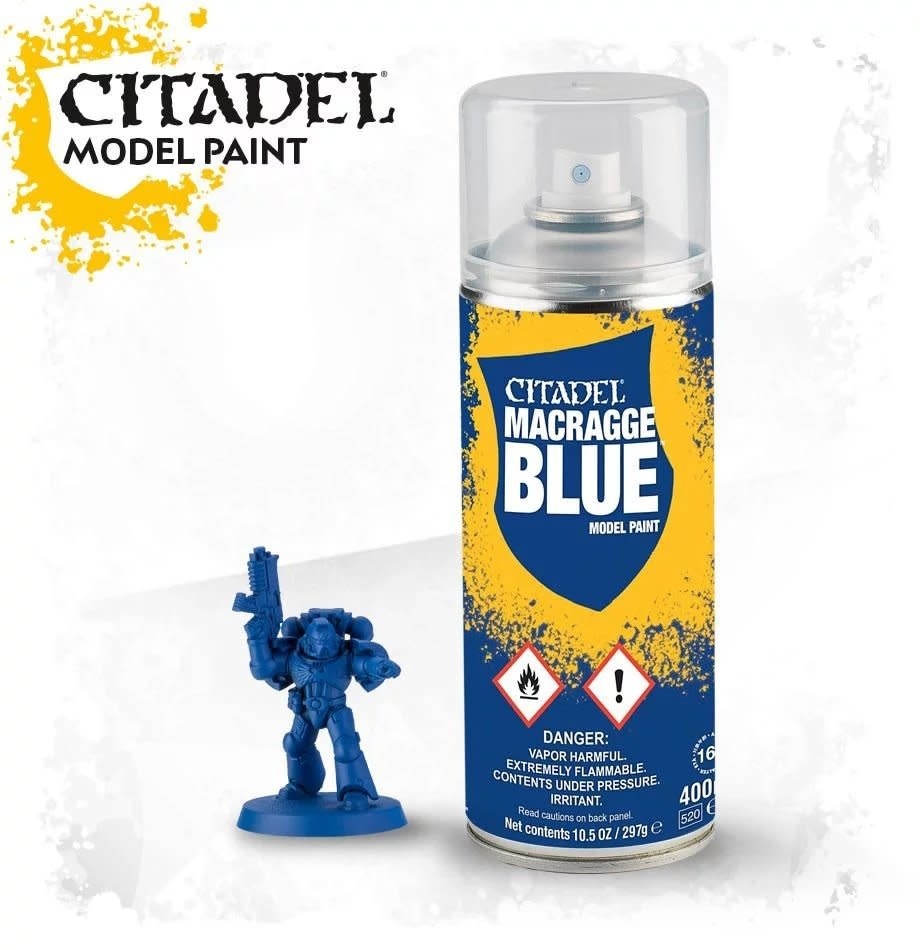 Games-Workshop Macragge Blue Spray