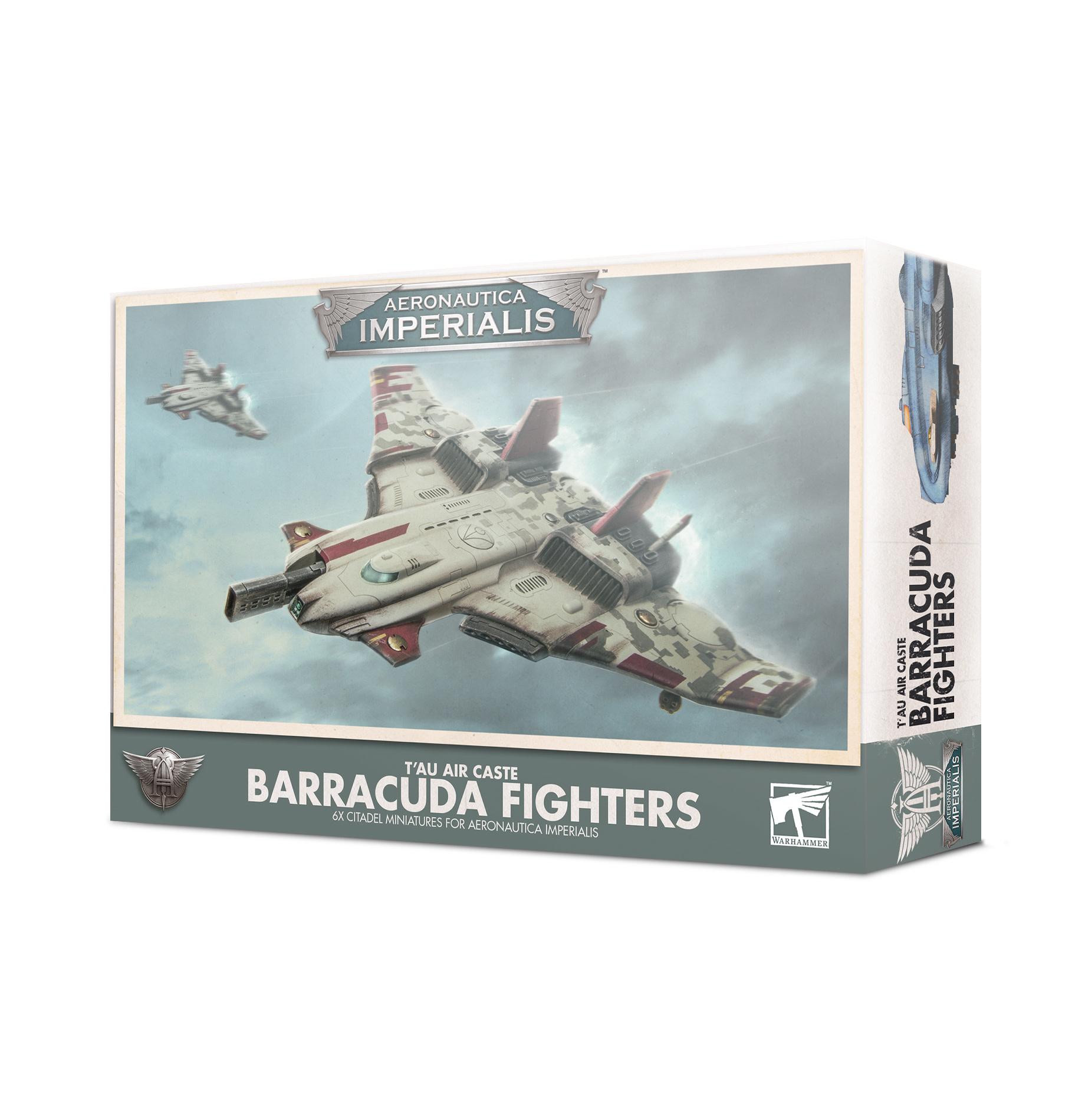 Games-Workshop Aeronautica Imperialis: T'Au Air Caste Barracuda Fighters