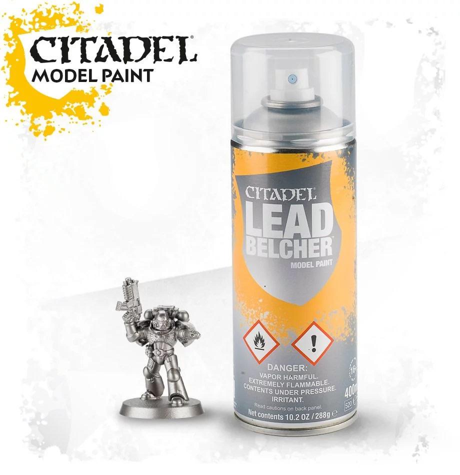 Games-Workshop Leadbelcher Spray