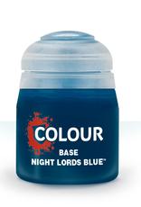 Games-Workshop Base: Night Lords Blue (12Ml)