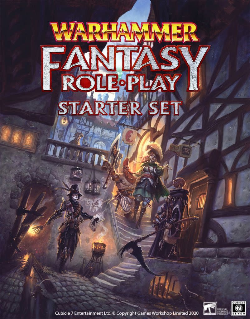 Cubicle 7 Warhammer Fantasy Roleplay, 4th Edition: Starter Set