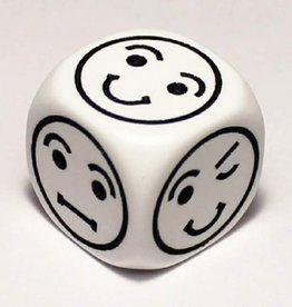 Chessex Chessex Opaque 18mm D6 Smiley Faced Dice
