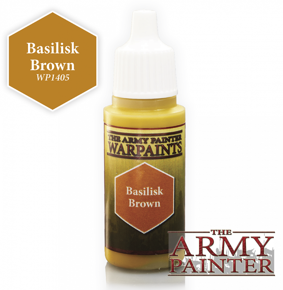 The Army Painter Warpaint Basilisk Brown