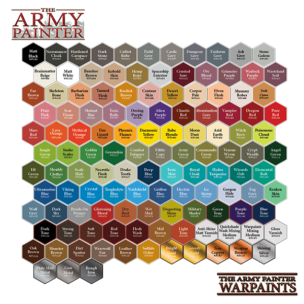 The Army Painter Warpaint Bright Gold