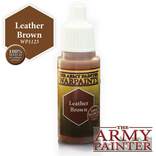 The Army Painter Warpaint Leather Brown