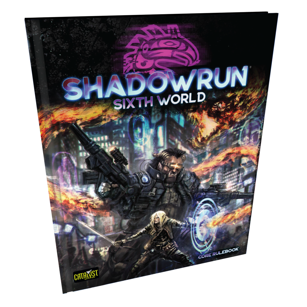 Catalyst Game Lab Shadowrun, 6th Ed.: Core Rulebook