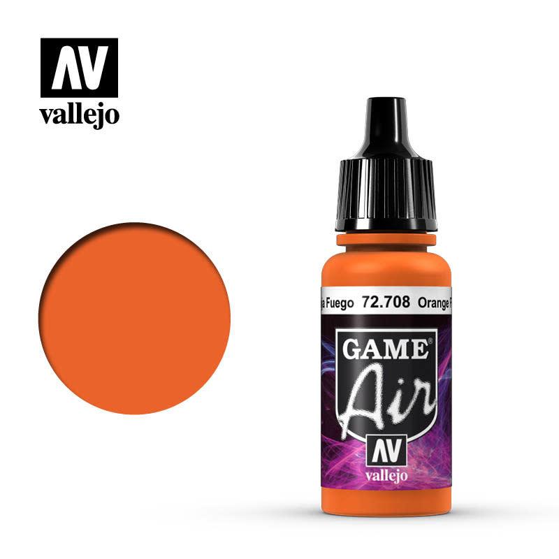 Vallejo Game Air: Orange Fire, 17 ml.