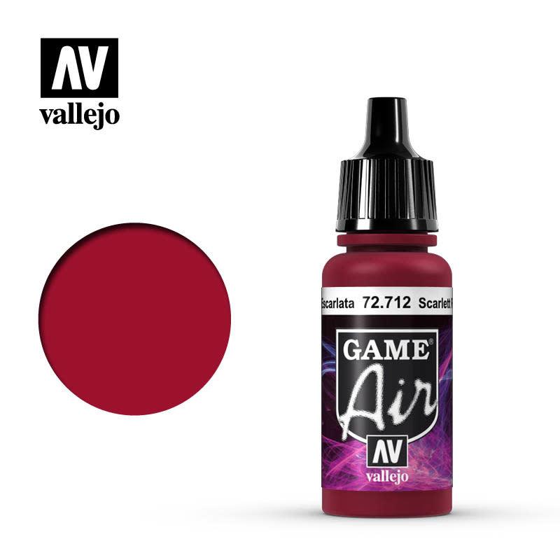 Vallejo Game Air: Scarlett Red, 17 ml.