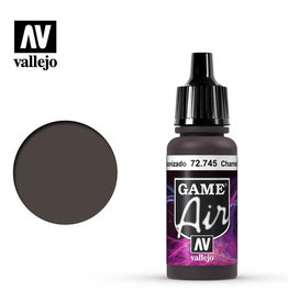 Vallejo Game Air: Charred Brown, 17 ml.