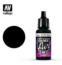 Vallejo Game Air: Black, 17 ml.