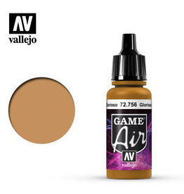 Vallejo Game Air: Glorious Gold, 17 ml.