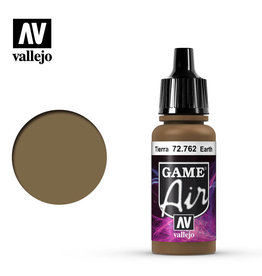 Vallejo Game Air: Earth, 17 ml.