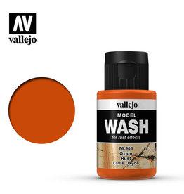 Vallejo Model Wash: Rust Wash, 35 ml.
