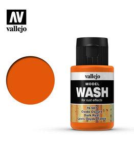 Vallejo Model Wash: Dark Rust Wash, 35 ml.