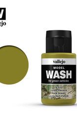 Vallejo Model Wash: Dark Green Wash, 35 ml.