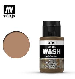 Vallejo Model Wash: Dark Brown Wash, 35 ml.