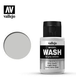 Vallejo Model Wash: Light Grey Wash, 35 ml.