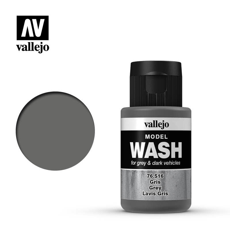 Vallejo Model Wash: Grey Wash, 35 ml.