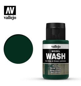 Vallejo Model Wash: Olive Green, 35 ml.