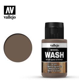 Vallejo Model Wash: Oiled Earth, 35 ml.