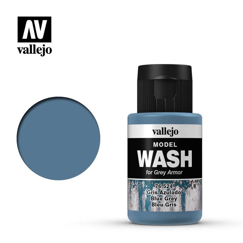 Vallejo Model Wash: Blue Grey, 35 ml.