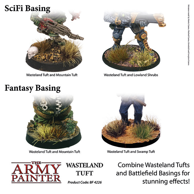 The Army Painter Battlefield: Foliage: Wasteland Tuft