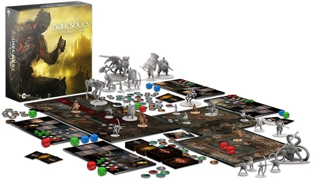 Steamforged Games Dark Souls the Board Game