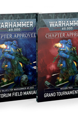 Games-Workshop Chapter Approved: Grand Tournament 2020 Mission Pack and Munitorum Field Manual