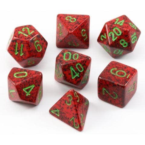 Chessex 7-Die Set Speckled Strawberry