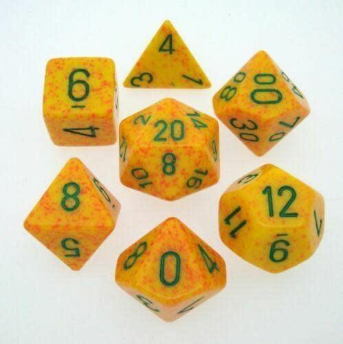 Chessex 7-Die Set Speckled Lotus