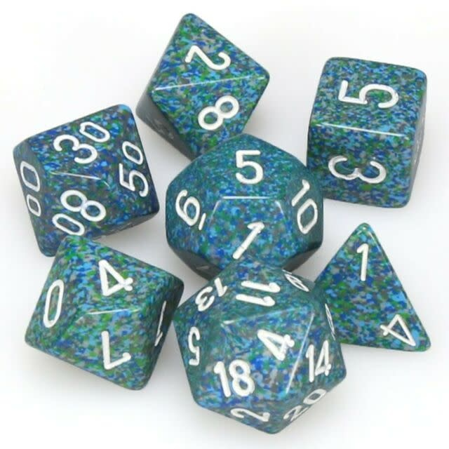 Chessex 7-Die Set Speckled Sea