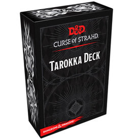 Gale Force 9 Dungeons and Dragons RPG: Strahd- Tarokka Deck