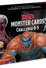 Gale Force 9 Dungeons and Dragons RPG: Monster Cards- Challenge 0-5 Deck (179 cards)