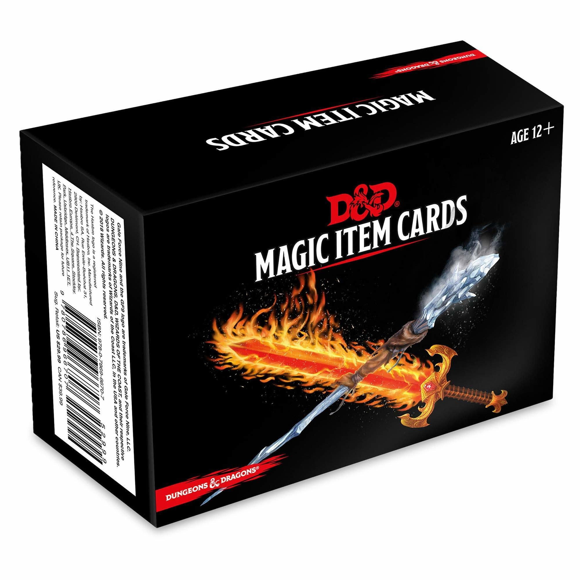 Gale Force 9 Dungeons and Dragons RPG: Magic Item Cards Deck (294 cards)