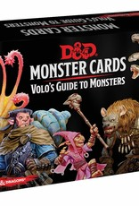Gale Force 9 Dungeons and Dragons RPG: Monster Cards- Volo's Guide to Monsters Deck