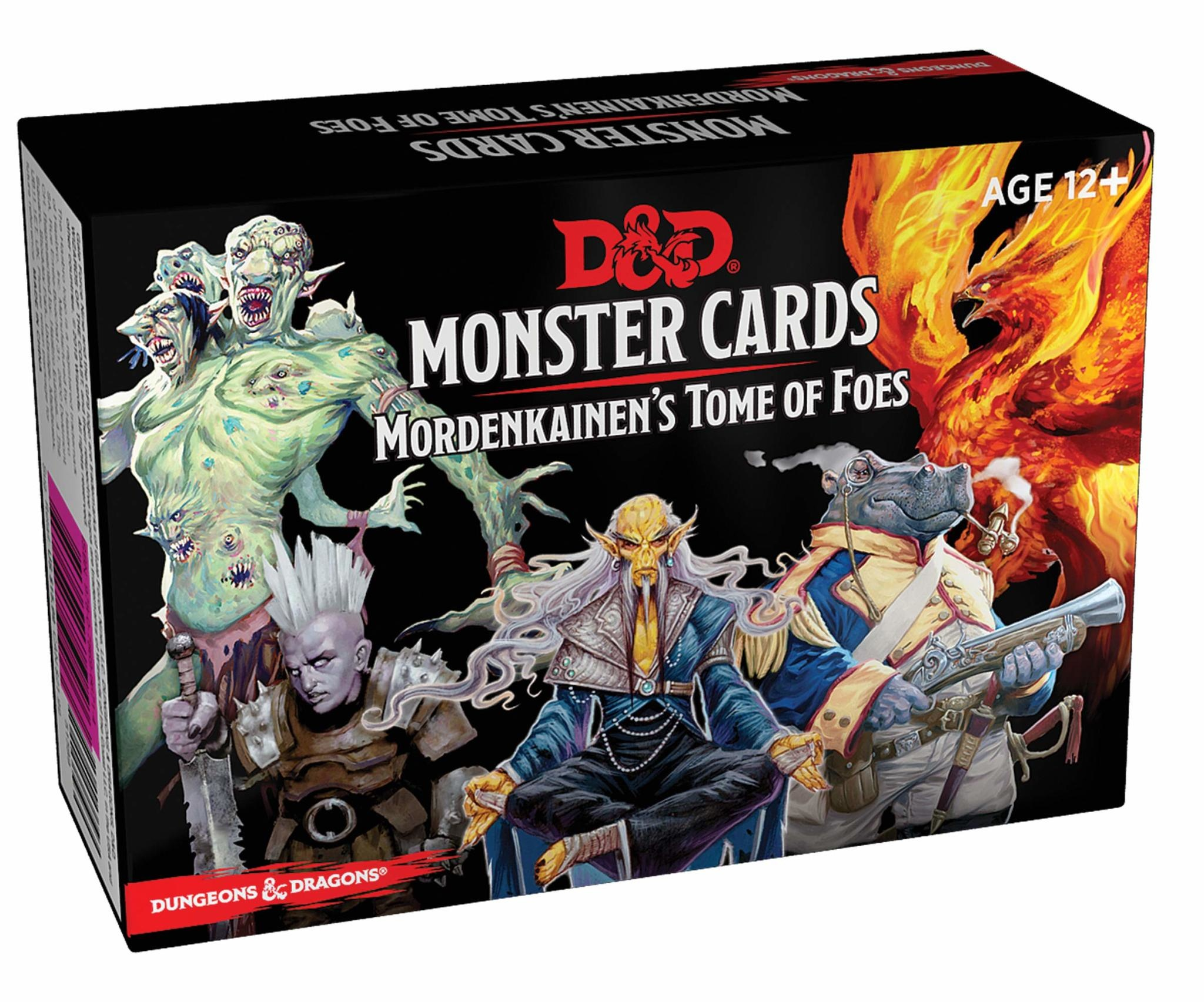 Gale Force 9 Dungeons and Dragons RPG: Monster Cards- Mordenkainen's Tome of Foes Deck