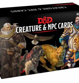 Gale Force 9 Dungeons and Dragons RPG: Monster Cards- Creature & NPC Cards