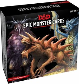 Gale Force 9 Dungeons and Dragons RPG: Monster Cards- Epic Monsters