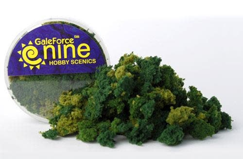 Gale Force 9 Basing Hobby Round- Summer 3 Color Foliage Mix