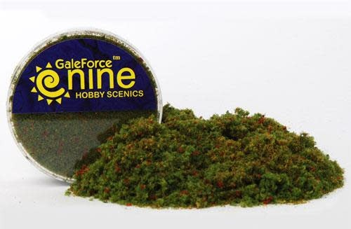 Gale Force 9 Basing Hobby Round- Meadow Blend Flock