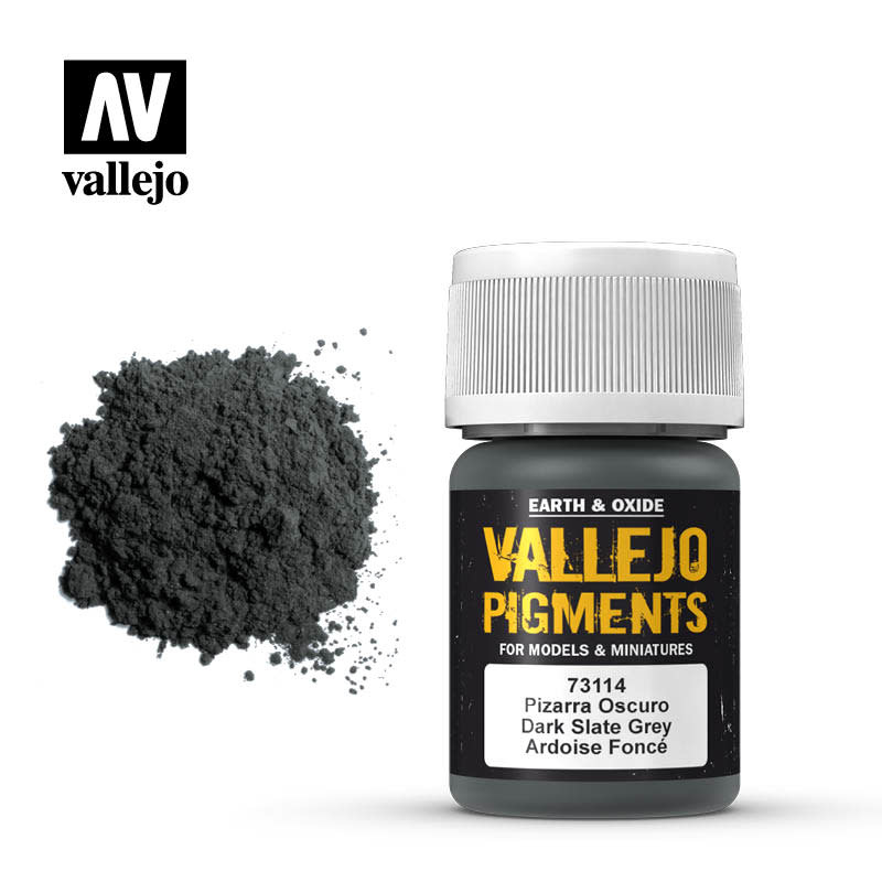 Vallejo Pigment Dark Slate Grey, 30 ml.