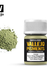 Vallejo Pigment Faded Olive Green, 30 ml.