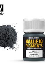 Vallejo Pigment Dark Steel, 30 ml.