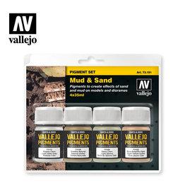 Vallejo Pigment Set Mud & Sand, 35. ml.