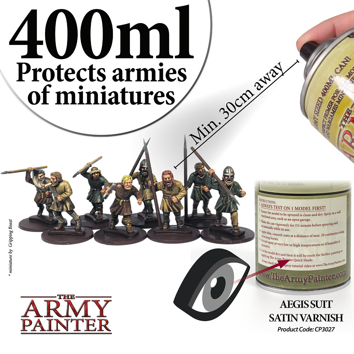 The Army Painter Varnish: Satin, Aegis Suit