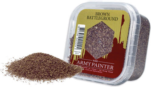 The Army Painter Battlefield: Scatter- Brown Battleground
