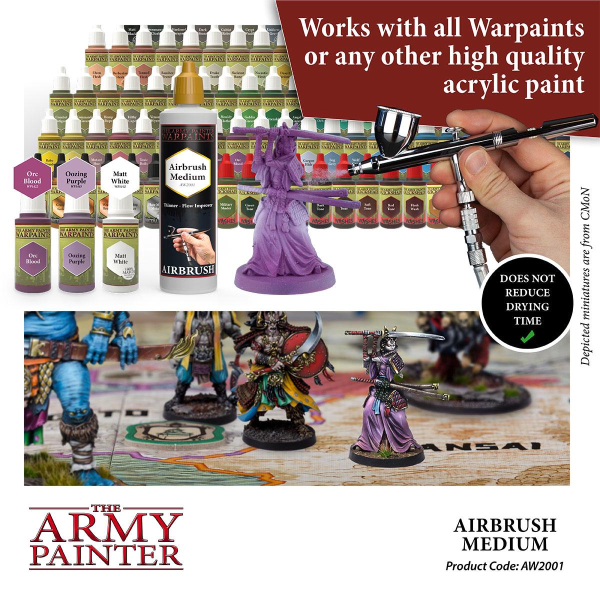 The Army Painter Medium: Airbrush Medium